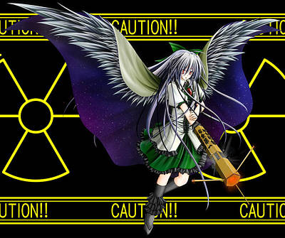 Pattern Digital Art - Touhou by Super Lovely