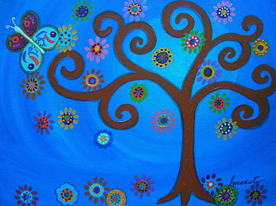 Carter House Painting - Tree Of Life by Pristine Cartera Turkus