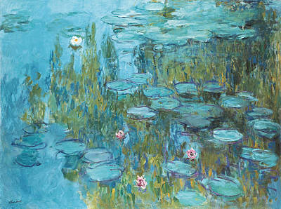 Lily Painting - Water Lilies by Claude Monet
