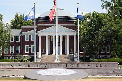 University Of Louisville Photograph - 6409 by Jim Simms
