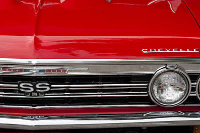Photograph - 65 Chevelle by John Zawacki