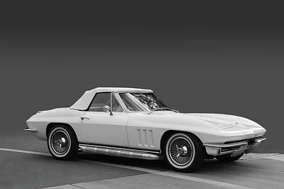 Photograph - 65 Corvette Roadster by Bill Dutting