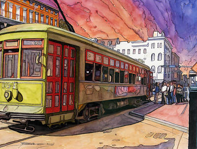 New Orleans Drawing - 65 by John Boles
