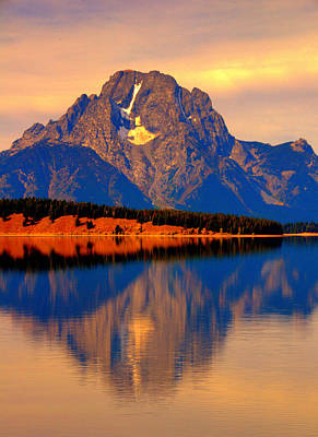 Moosehead Lake Digital Art - Yellowstone Park by Aron Chervin