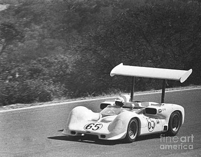 Photograph - 65	Phil Hill	Chaparral 2e Chevrolet	Chaparral Cars Oct 16, 1966 by California Views Archives Mr Pat Hathaway Archives