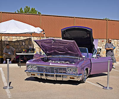 Photograph - 66 Chevy Impala_1a  by Walter Herrit