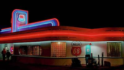 Photograph - 66 Diner, Albuquerque, New Mexico by Flying Z Photography by Zayne Diamond