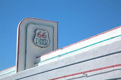 Photograph - 66 Diner by Steve Gravano