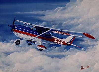 Wall Art - Painting - 66 Hawk by Peter Ring Sr