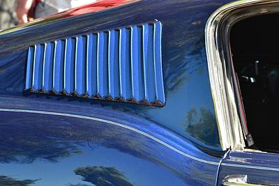 Photograph - 67-68 Mustang Fastback Detail by Dean Ferreira