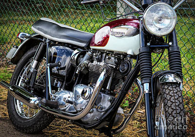 Photograph - 67 Bonneville by Tim Gainey
