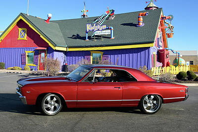 Photograph - 67 Chevelle  by Bill Dutting