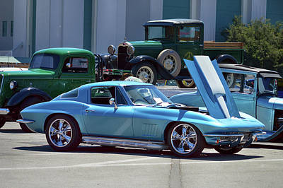 Photograph - 67 Corvette Bb Coupe by Bill Dutting