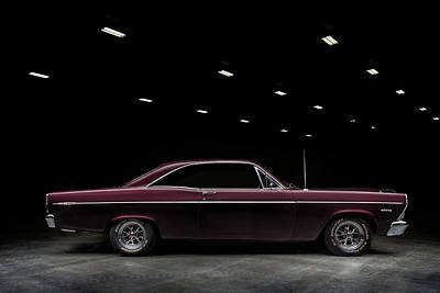 Digital Art - 67 Ford Fairlane by Douglas Pittman