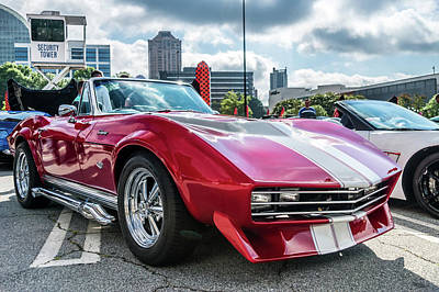 Photograph - 67 Mako Shark Corvette Stingray by Michael Sussman