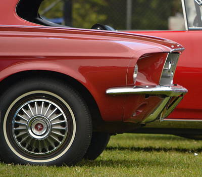 Photograph - 67 Mustang   by Dean Ferreira