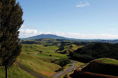 Rural Landscapes Photograph - New Zealand by Les Cunliffe