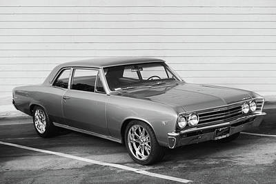 Photograph - 67 Platinum Chevelle  by Bill Dutting
