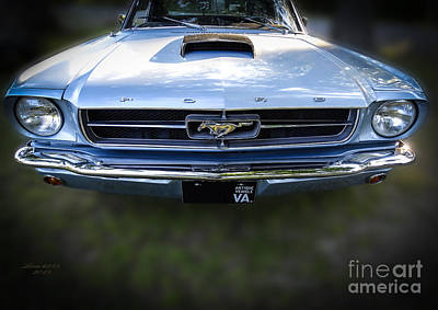 Photograph - 67 Vintage Ford Mustang by Melissa Messick