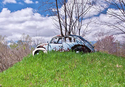 Photograph - 67 Volkswagen Beetle by Suzanne Stout