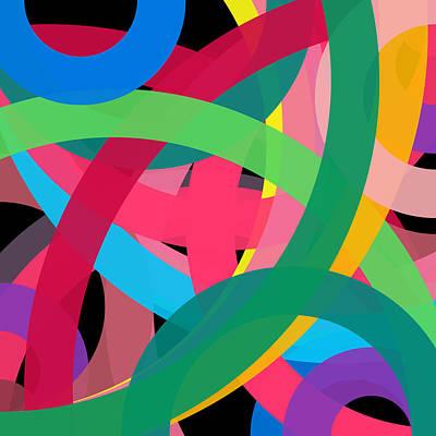 Drawing - 6765 - Phi Word Circle by REVAD David Riley