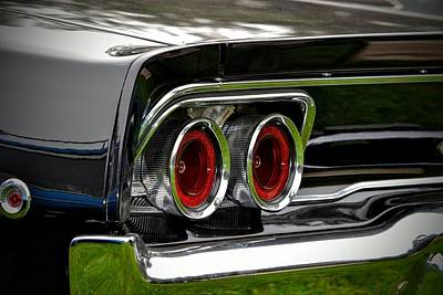 Photograph - 68 Charger Detail by Dean Ferreira