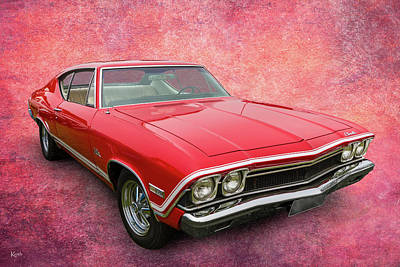 Photograph - 68 Chevelle by Keith Hawley