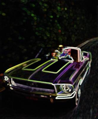 Painting - 68 Ford Mustang  Gt by R Muirhead Art