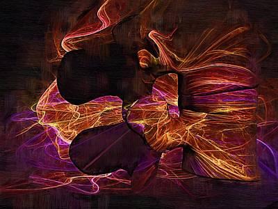 Osteopath Digital Art - Lumbar Spine by Joseph Ventura