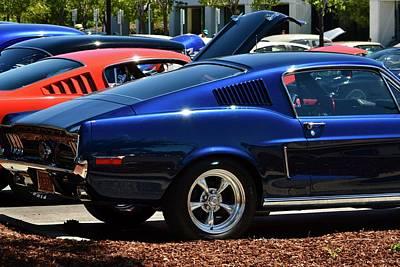 Photograph - 68 Mustang Detail by Dean Ferreira