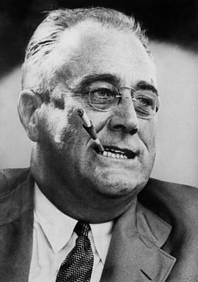 President Franklin D. Roosevelt Art Print by Everett