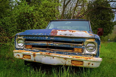 Photograph - 68 Stepside by Chuck De La Rosa