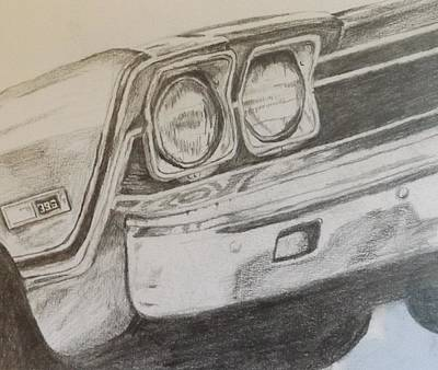 Painting - '69 Chevelle by Pamela Anderson