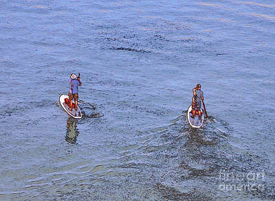 Photograph - 69- Paddle Boarders by Joseph Keane