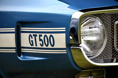 Photograph - 69 Shelby Gt500 Details by Dean Ferreira