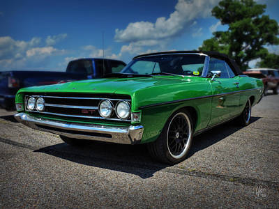 Photograph - '69 Torino Gt Convertible by Lance Vaughn