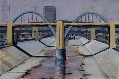 Painting - 6th Street Bridge by Richard Willson