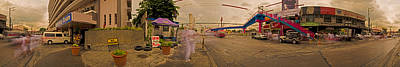 Photograph - 6x1 Philippines Number 260 Hospital Panorama by Rolf Bertram