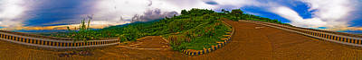 Photograph - 6x1 Philippines Number 470 Panorama Tagaytay by Rolf Bertram