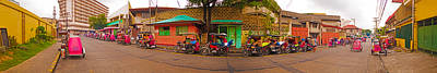 Photograph - 6x1 Philippines Number 48 Panorama by Rolf Bertram