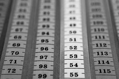 Tape Mixed Media -  Measuring Tape by Boyan Dimitrov