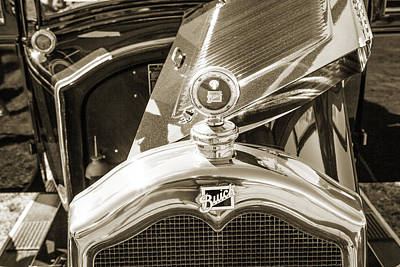 Photograph - 1924 Buick Duchess Antique Vintage Photograph Fine Art Prints 108 by M K  Miller
