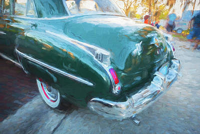 Photograph - 1950 Oldsmobile 88 Futurmatic Coupe   by Rich Franco