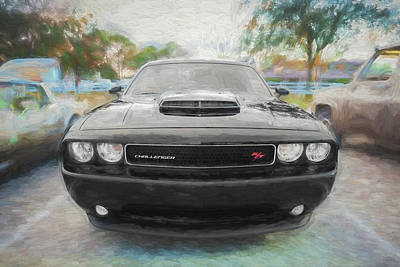 Photograph - 2013 Dodge Challenger  by Rich Franco