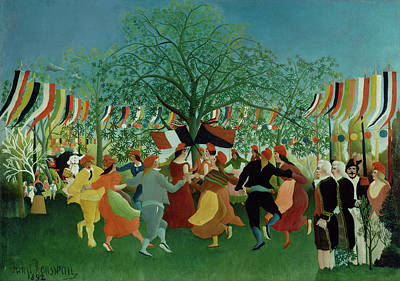 Centennial Painting - A Centennial Of Independence by Henri Rousseau