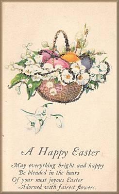 Digital Art - A Happy Easter by David and Lynn Keller