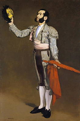 Public Holiday Painting - A Matador by Edouard Manet