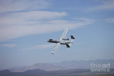 Going Green - A U.s. Air Force A-10 Thunderbolt Ii by Terry Moore