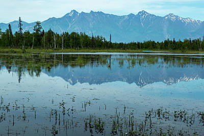 Alaska Landscapes Art Print by Jon Manjeot