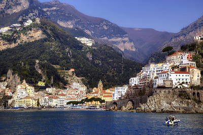 Gulf Coast Wall Art - Photograph - Amalfi - Amalfi Coast by Joana Kruse
